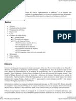 Prolog - Wikipedia, La Enciclopedia Libre