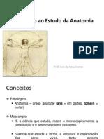Introduçao ao Estudo da Anatomia
