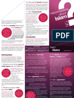 Misconceptions about Islam ( Pamphlet )