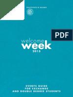Welcome Week Guide Exchange