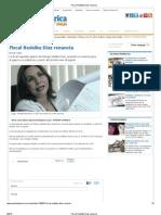 Fiscal Nedelka Díaz renuncia