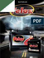 Catalogo BateriaS Velox