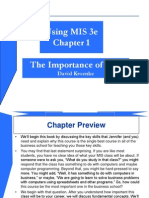 Importance of MIS_ch01