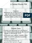 Servidor Debian Router Proxy Firewall DHCP