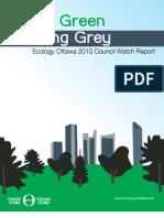 Ecology Ottawa 2010 Council Watch Report