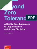 DPA Beyond Zero Tolerance