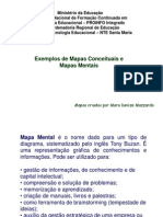 Exemplos Mapas Conceituais e Mapas Mentais