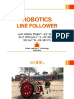 Robotics Line Follower