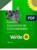Estatuto Autonómico de Cochabamba