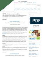 CEFET - RJ abre concurso público