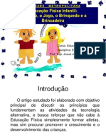 Unidade III Nova Educacao Fisica Jogo Brinquedo e Brincadeira