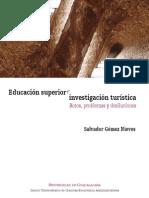 Educacion Superior Investigacion Turistica Retos Problemas Desiluciones