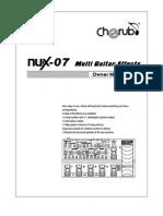 Nux-07 Manual En
