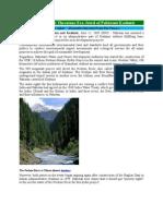 Hydropower Project Threatens Eco  by Zafar Iqbal