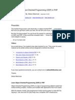 Lập trình hướng đối tương PHP....Căn bản(OOP in PHP)