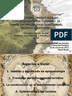 ## Demarcando Fronteras en El Conocimiento Del Turismo. 2011