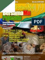 Poster Malam Aspirasi Seni Bersama Mu Palestin