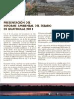 Informe Ambiental Del Estado de Guatemala 2011