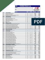 PA715-2013 Metrados y Presupuestos -COMEDOR