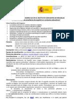 II Encuentro de Profesores de E/LE. Instituto Cervantes de Bruselas (18 y 19 de octubre de 2013)