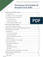 Decisiones en La Gestion de Costos Para Crear Valor(1)