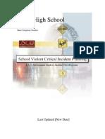 School Violent Critical Incident Planning