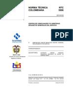 NTC 5906-2012 Centros de Conciliacion DEBE