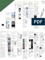 Kurzanleitung HTC Desire S FR