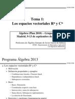 Espacio s Vectorial Es 2013