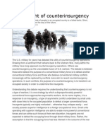 The Twilight of Counterinsurgency