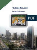 Manual Usuario Guiacalles Gps