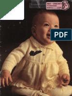 Sirdar 511 Baby Layette Knitting Pattern