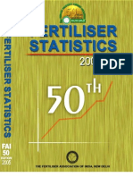 Fertiliser Statistics 0405