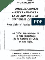 El Mercurio, Septiembre 11 de 1974