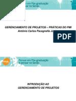Introdução ao gerenciamento de projetos - aula 2