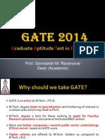 GATE 2014 Examination
