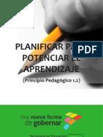 Planificar Para Potencializar El Aprendizaje