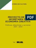 plan de economía creativa Brasil