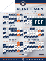 Astros 2014 schedule