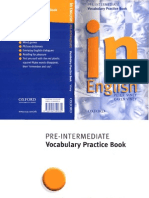 In English - Vocabulary Practice Book