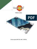 Ps 110Carte Tehnica Panouri Solare Thermosolar 2010 Dju5mr