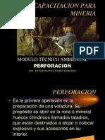 CAPACITACION en Perforacion-Y-Voladura