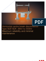 Disconnector Brochure Type SGF 123