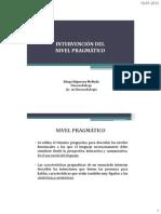 Clase 18 - Intervención Pragmática