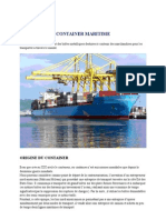 Container Maritime