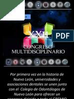 Congreso XXII  Nuevo Leon Invitación AMIC