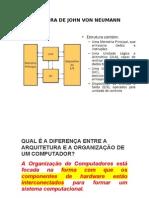 01. Arquitetura e Organização