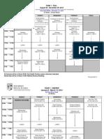 Academic Schedule13 14