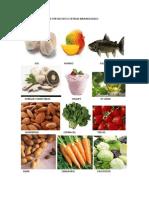 Alimentos Que Ayudan a Fortalecer El Sistema Inmunologico