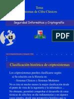 Seguridad 6 - Sistemas de Cifras Clásicas